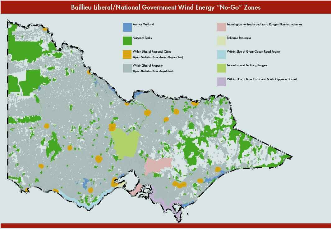 Maps show where you cant build a wind farm in Victoria