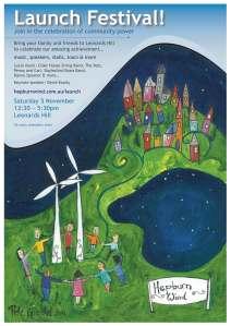 Hepburn Wind festival poster
