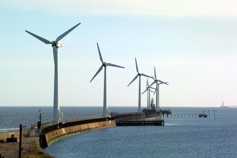 Blyth Harbour wind farm