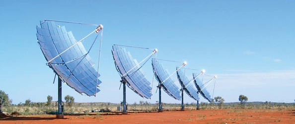 Solar Systems CPV array