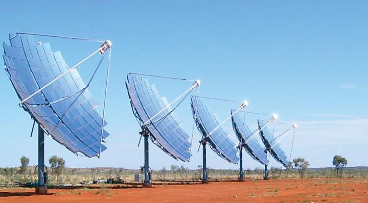 Solar Systems CPV array
