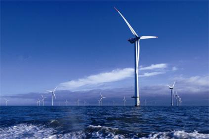 Horns Rev 1 offshore windfarm