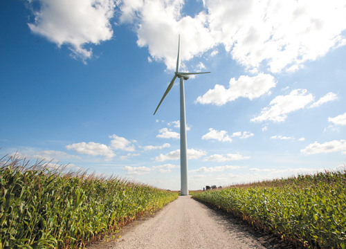 Iowa Commons community owned wind farm