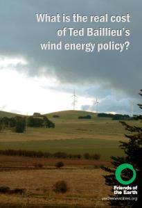 Report: What is the real cost of Ted Baillieu's wind energy policy?