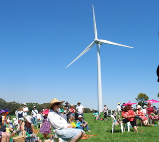 The community-owned Hepburn wind project, winner of the World Wind Energy Award 2012.