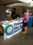 Yes 2 Renewables volunteers speak with community members in Broadford.