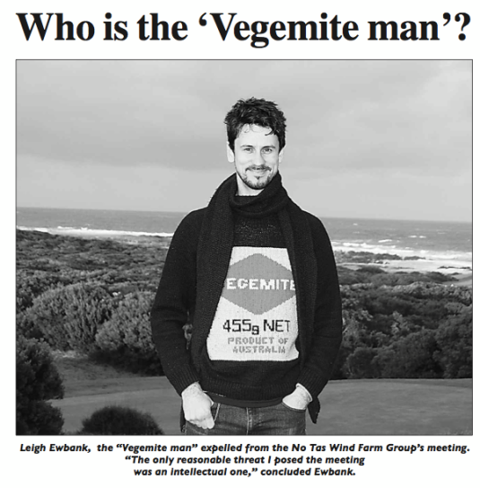 The King Island Courier feature story on Y2R coordinator Leigh Ewbank.