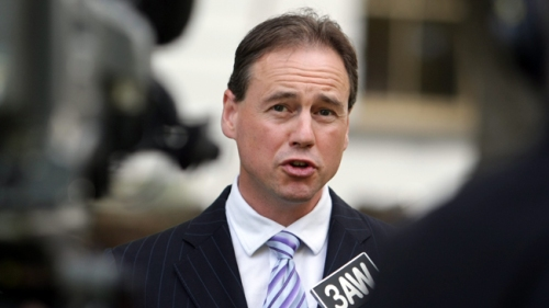 Shadow minister for climate change, Greg Hunt