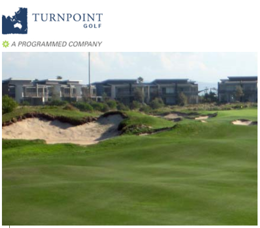 Turnpoint build golf courses. (Image: screenshot from Turnpoint website)