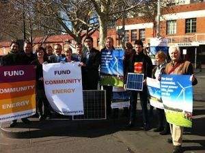 Fund Community Energy - Greens policy launch