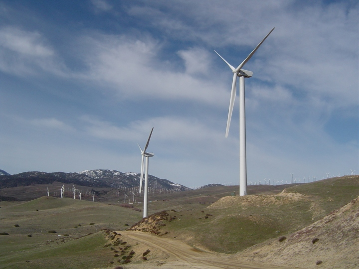 Cameron Ridge Wind Farm Mojave California
