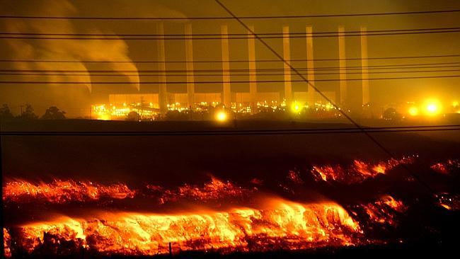 Victoria's Hazlewood coalmine fire.