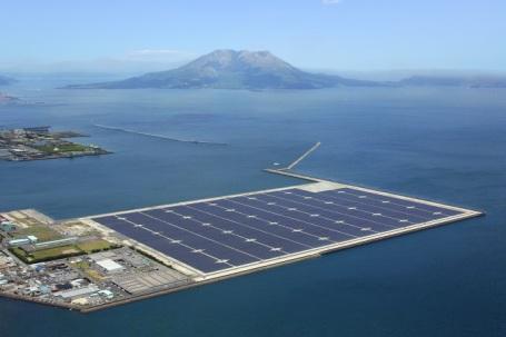 japan floating solar