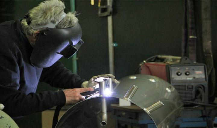 Welder at Eureka's Future