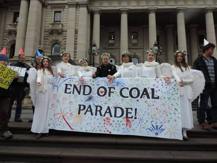 end of coal parade