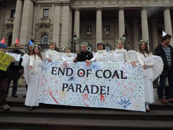 end of coal parade