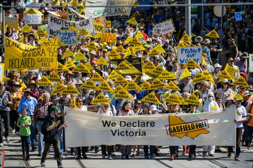 67 communities came together to declare Victoria gasfield free last month