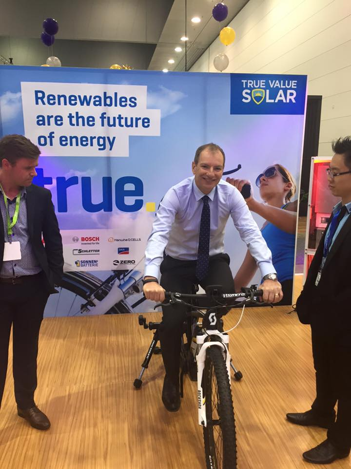 Shadow Minister for Renewables, David Southwick, spoke last week at the All Energy conference
